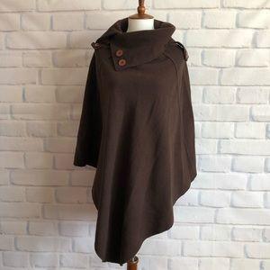 Jackets & Blazers - Brown Poncho Cape